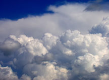 White Clouds and Sky Royalty Free Stock Photos