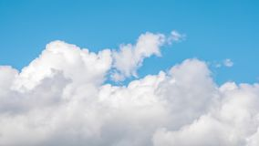 White clouds timelapse. Cloudy heaven at beautiful weather.  stock footage
