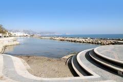 White Coast,Alicante province,Spain Royalty Free Stock Image