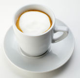 White coffee Royalty Free Stock Image
