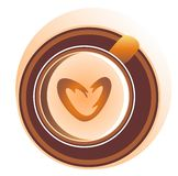 White coffee Stock Image