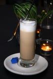White coffee. (café-au-lait) on the table Stock Photos