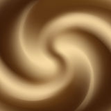 White coffee or chocolate and milk swirl Royalty Free Stock Images