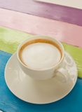 White coffee cup Royalty Free Stock Photography