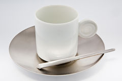White coffee cup Stock Image