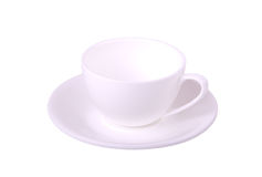 White coffee cup Royalty Free Stock Image