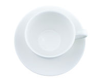 White coffee cup Royalty Free Stock Photo