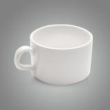 White  coffee mug Royalty Free Stock Image