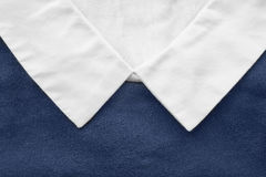 White collar closeup Stock Photos