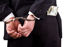 White collar corruption Royalty Free Stock Photos