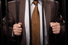White collar crime. Stock Photography