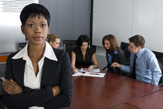 White Collar Environment Stock Image