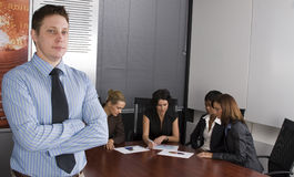 White collar environment Royalty Free Stock Photos