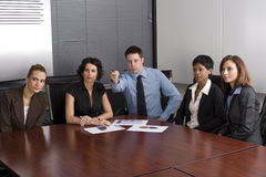 White collar environment Stock Photography