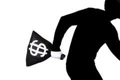 White collar thief royalty free stock image