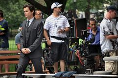 White collar tv show Stock Image
