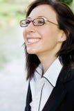 White collar woman Stock Image