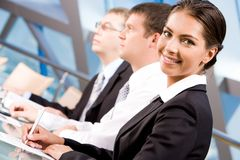 White collar worker Royalty Free Stock Images