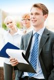 White collar worker Stock Images