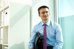 White collar worker Stock Photography