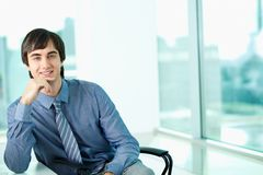 White collar worker Stock Photos