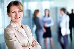White collar worker Royalty Free Stock Photography