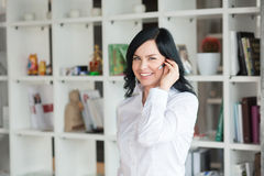 White collar worker in office Stock Photo