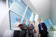 White collar workers Stock Photos