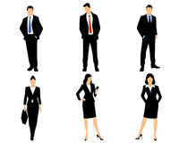 White collar workers Royalty Free Stock Photos