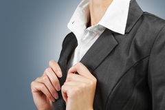 White collar Stock Images