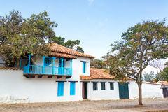 White Colonial Architecture Royalty Free Stock Images