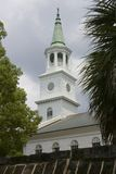 White colonial era Church royalty free stock photography