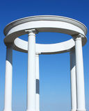White colonnade Royalty Free Stock Photo
