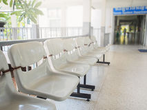 White color chairs Stock Image