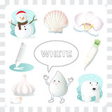 White color Stock Images