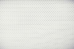 White color metal sheet material roller gate or door royalty free stock photo