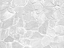 White color of modern style design decorative uneven cracked rea Stock Images