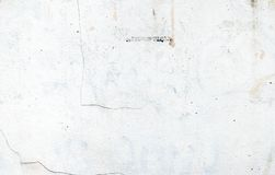White Color Paint On Grunge Cement Wall,texture Background Stock Image