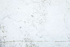 White color painting on concrete wall texture background.  stock photos