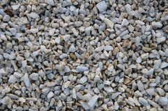 White and color stones Royalty Free Stock Images