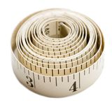 White Color Tape Measure Stock Images