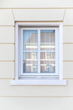 White color vintage style window Stock Photography