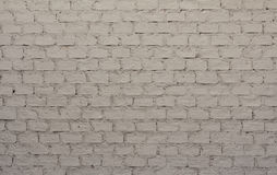 White colored brick wall Royalty Free Stock Photography