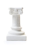 White column pedestal Stock Photography