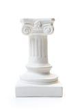 White column pedestal Stock Photography