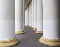 Free White Columns Royalty Free Stock Photos - 3176178