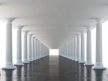 White columns Royalty Free Stock Photo