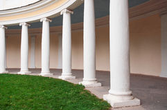 White columns Stock Photos