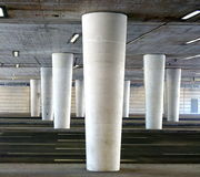 White columns Royalty Free Stock Image