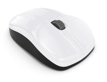 White computer mouse Royalty Free Stock Photos